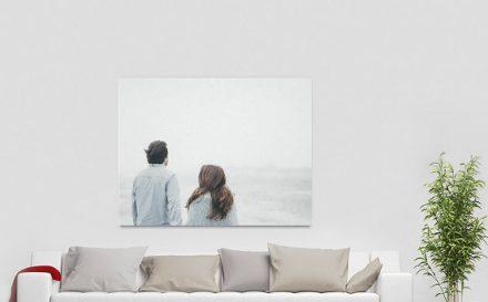 Fotoleinwand bedrucken lassen