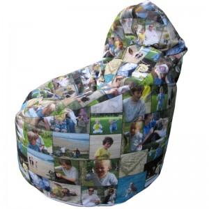 bequemer sitzsack aus deinen fotosgeschenkideen blog. Black Bedroom Furniture Sets. Home Design Ideas