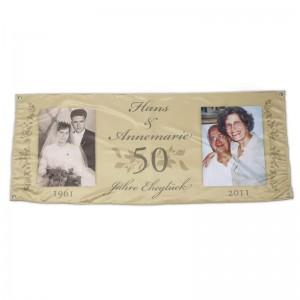 Banner für Hochzeiten und andere Feste