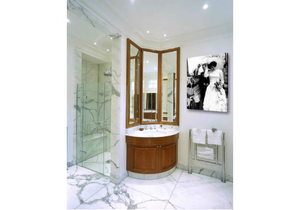 leinwand badezimmer. Black Bedroom Furniture Sets. Home Design Ideas