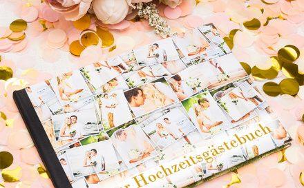 Gästebuch zur Hochzeit bedrucken