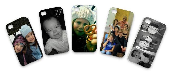 iPhone 4 Schutzhülle selber gestalten mit deinen Designs und Fotos
