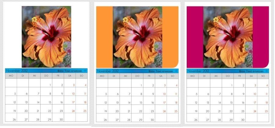 fotokalender 2013 gestalten geschenkideen blog. Black Bedroom Furniture Sets. Home Design Ideas