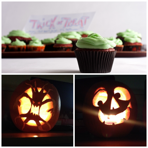 Halloween Cupcakes bei uns im Office