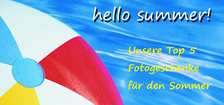 hello summer beliebte Fotogeschenke Banner