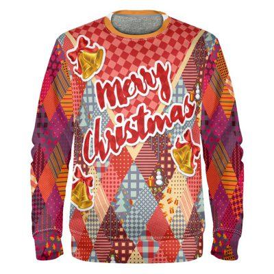 Kitschigen Weihnachtspullover selbst gestalten