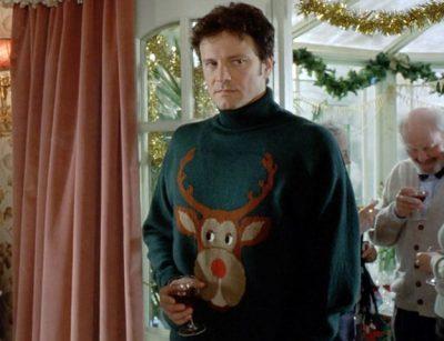 Mark Darcy Weihnachtspullover mit Rentier