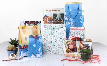Geschenktüte basteln