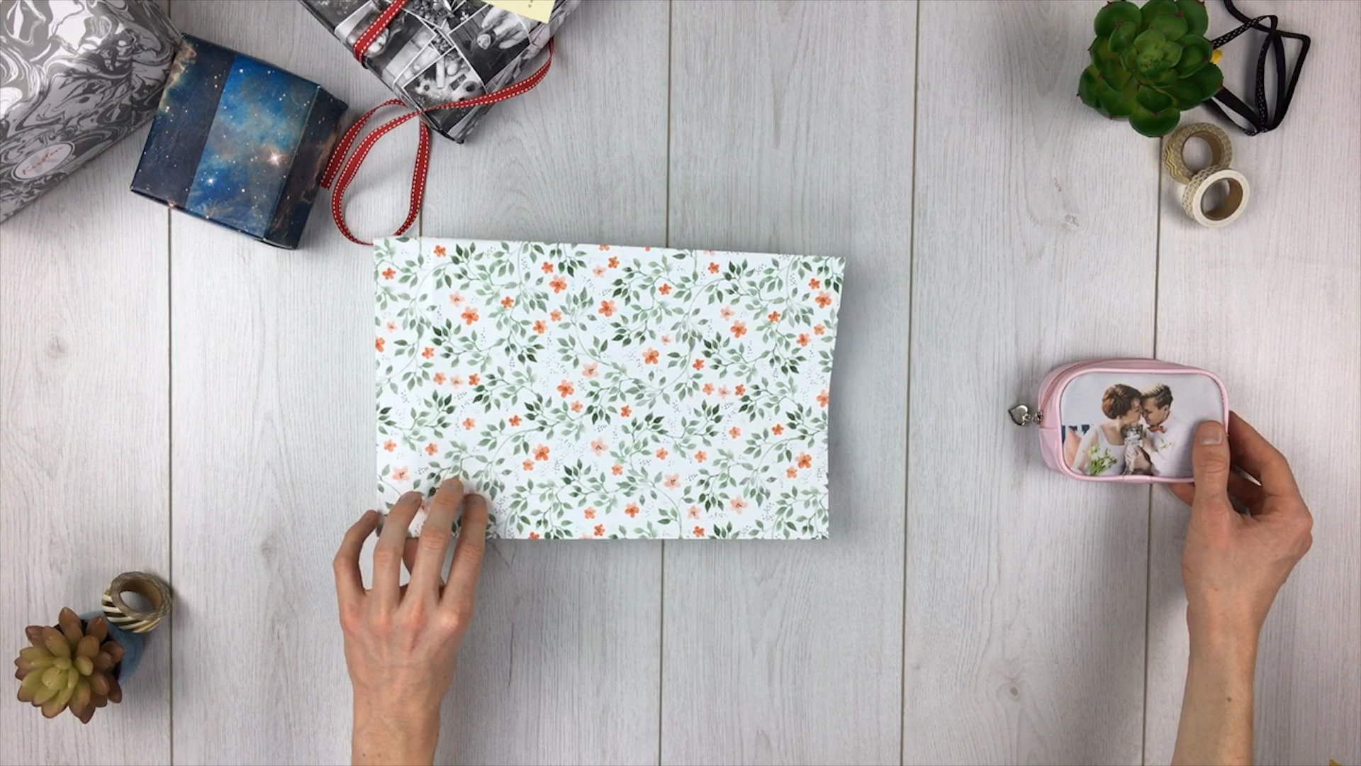 Geschenktüte basteln - Schritt 10