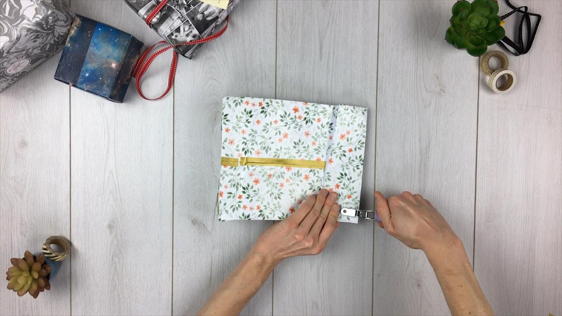 Geschenktüte basteln - Schritt 11