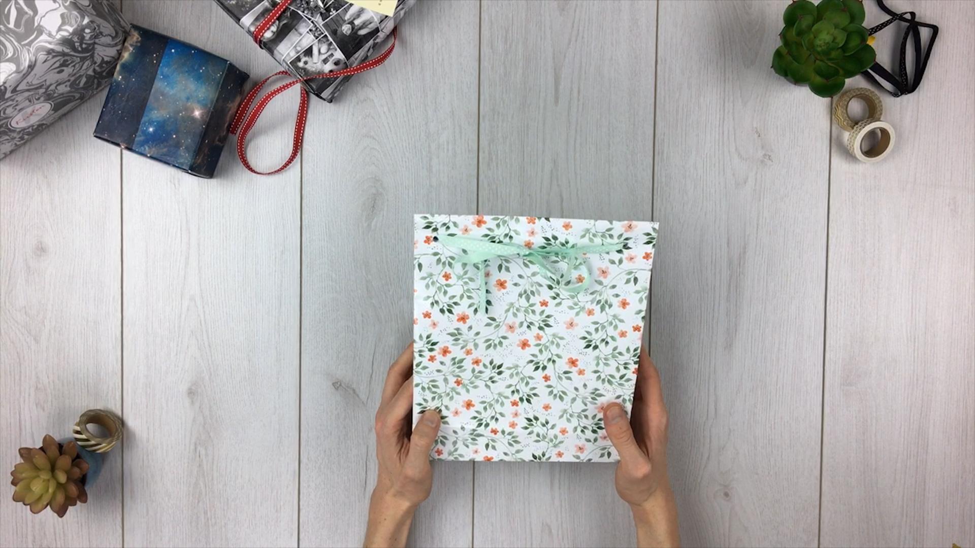 Geschenktüte basteln - Schritt 13