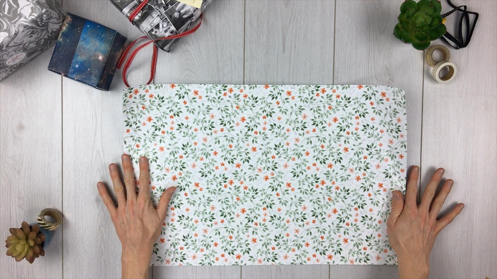 Geschenktüte basteln - Schritt 2