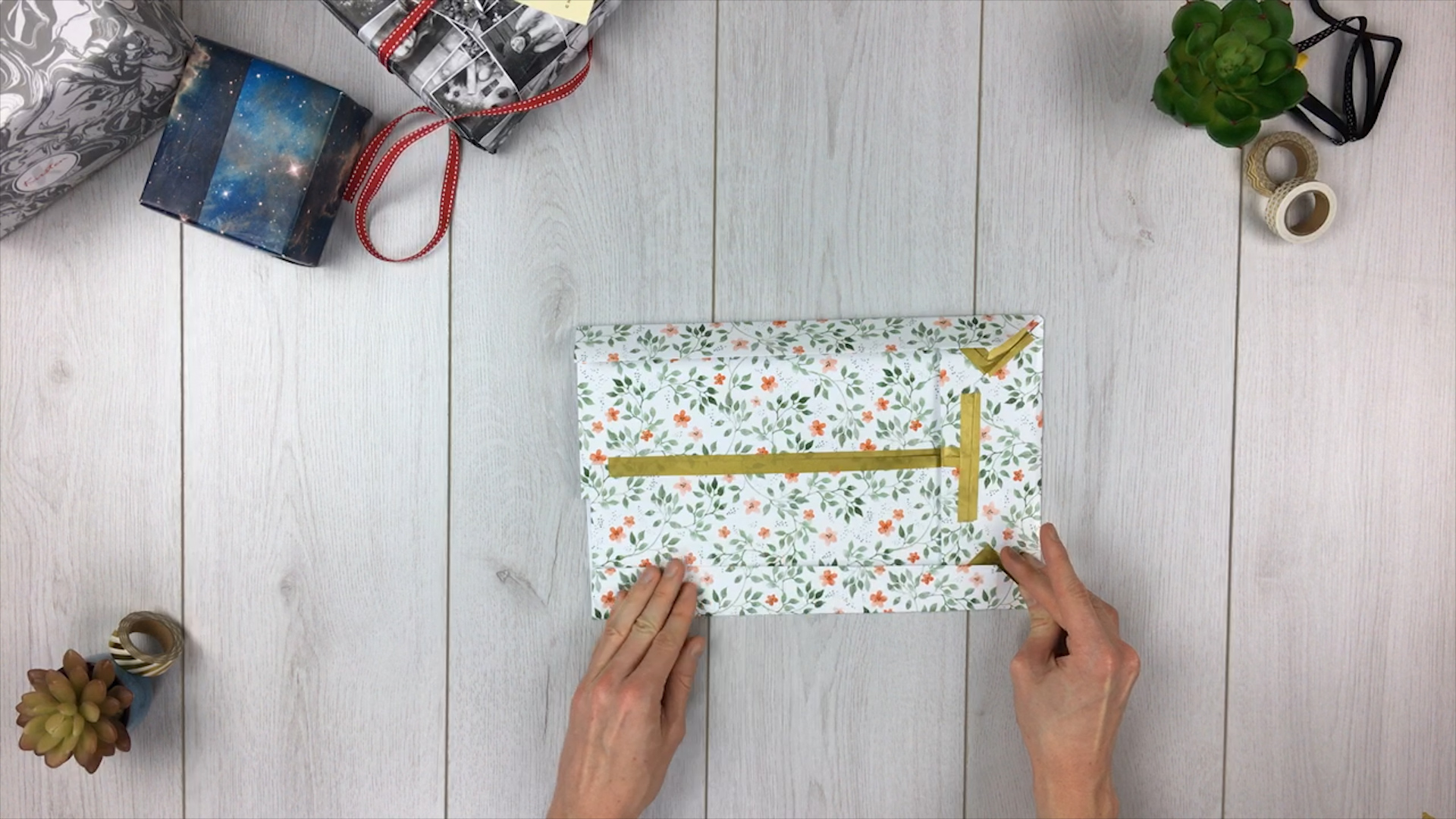 Geschenktüte basteln - Schritt 7