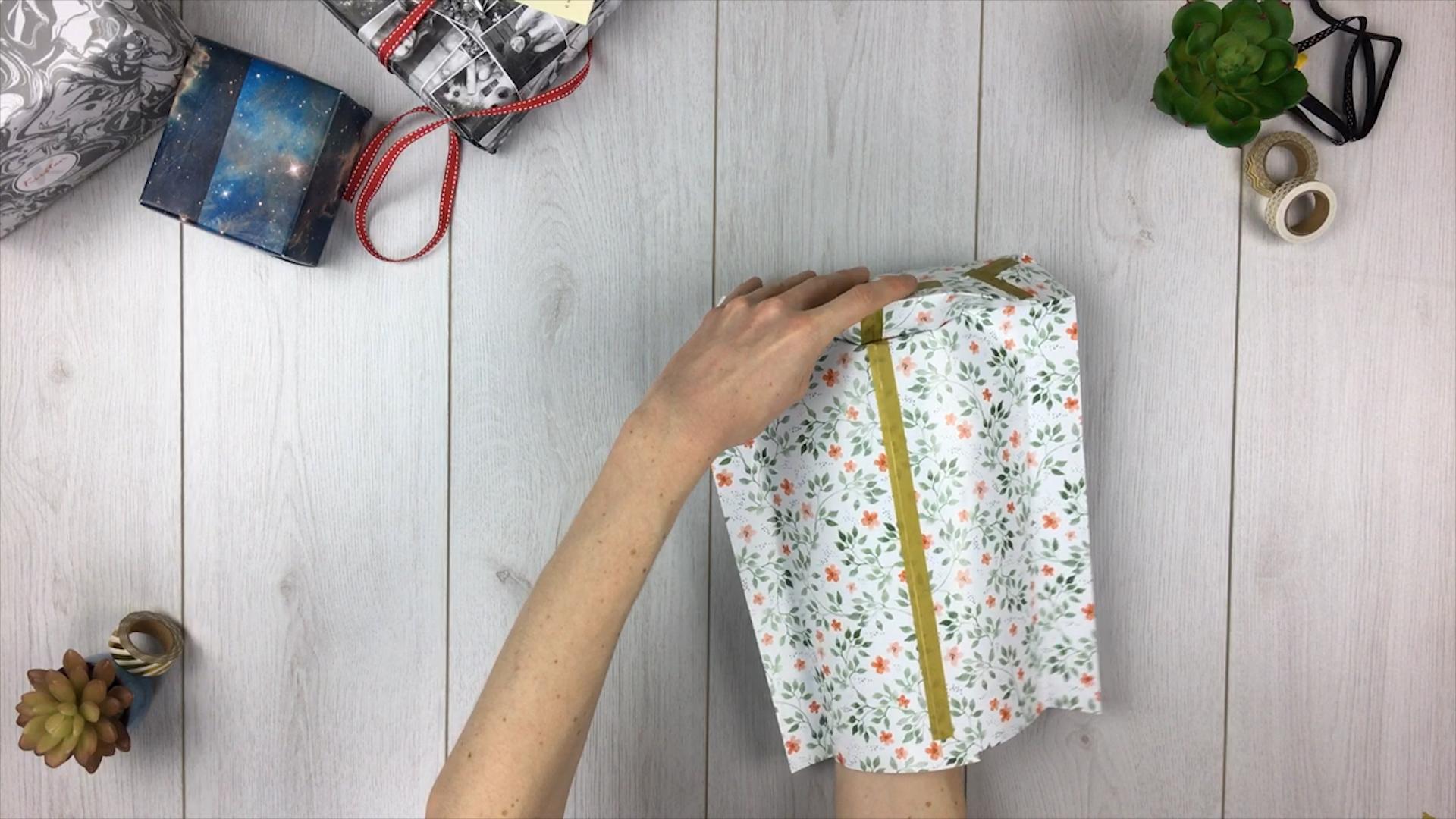 Geschenktüte basteln - Schritt 8
