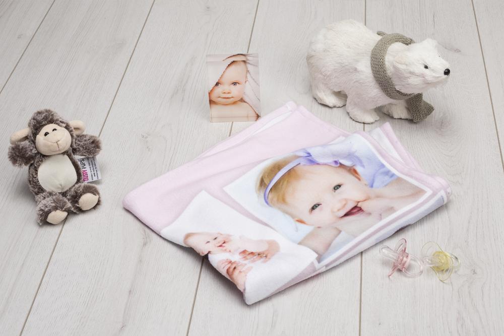 Wie du in 10 Schritten eine Babydecke selbst gestaltest