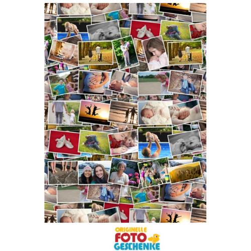 Fotocollage selbst gestalten Vorschau