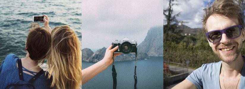 Fotocollage selfies