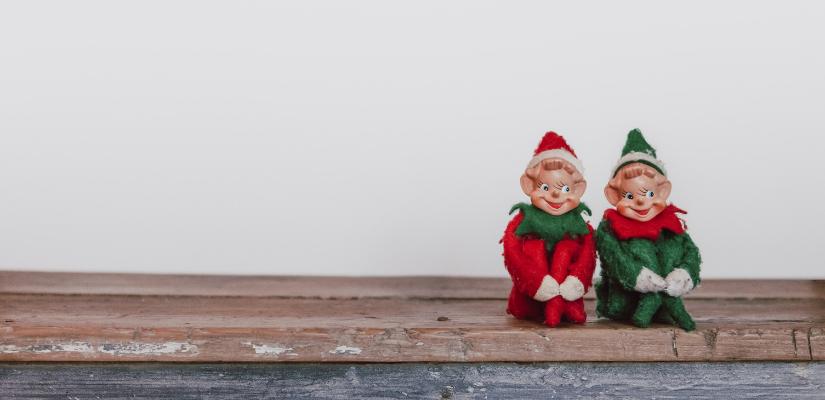 Was schreibt man auf eine Weihnachtskarte zum Wichteln