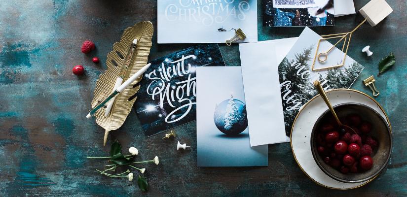 Was schreibt man auf eine Weihnachtskarte?