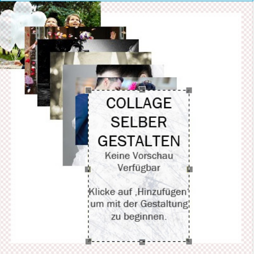 Collage selbst anordnen 1