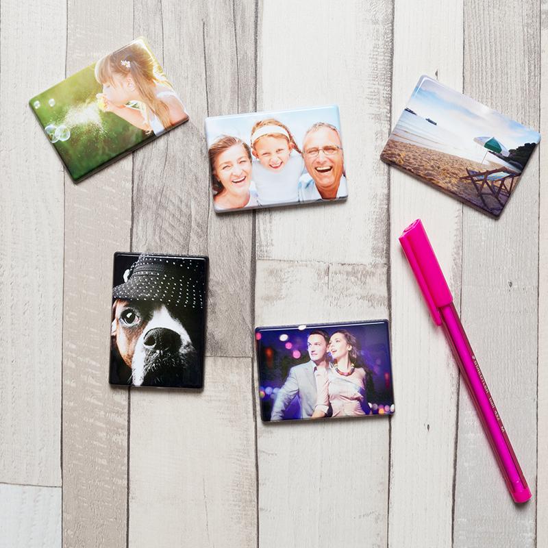 Fotogeschenk Valentinstag Magnet