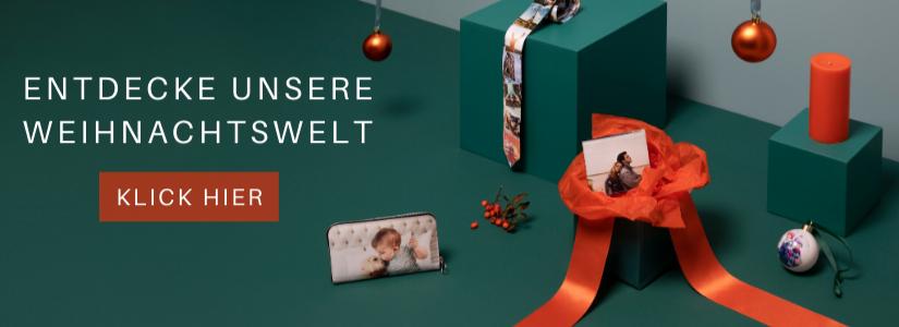 Weihnachtsgeschenke gestalten mit Originelle Fotogeschenke