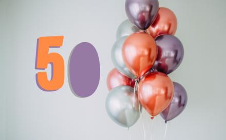Geschenke zum 50. Geburtstag Ideen
