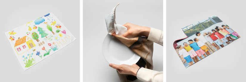 Geschirrtücher mit eigenen Bildern bedrucken lassen