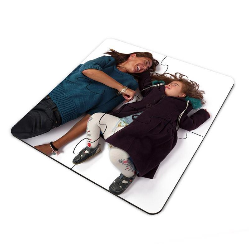 puzzle untersetzer mit foto. Black Bedroom Furniture Sets. Home Design Ideas