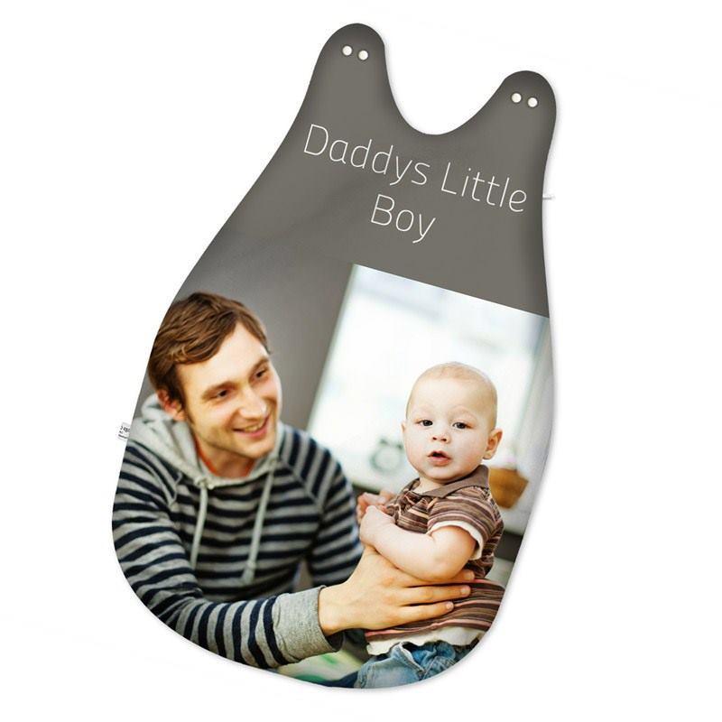 schlafsack mit namen f r babies bedrucken handgen ht aus fleece. Black Bedroom Furniture Sets. Home Design Ideas