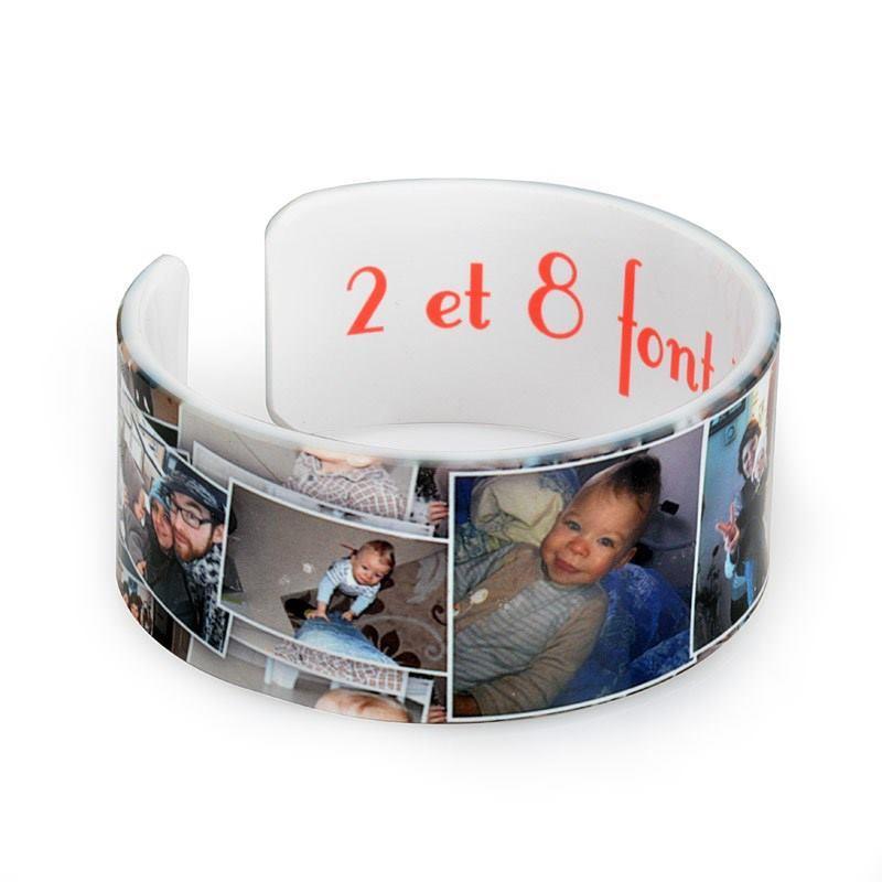 armband mit foto bedrucken lassen foto armband. Black Bedroom Furniture Sets. Home Design Ideas