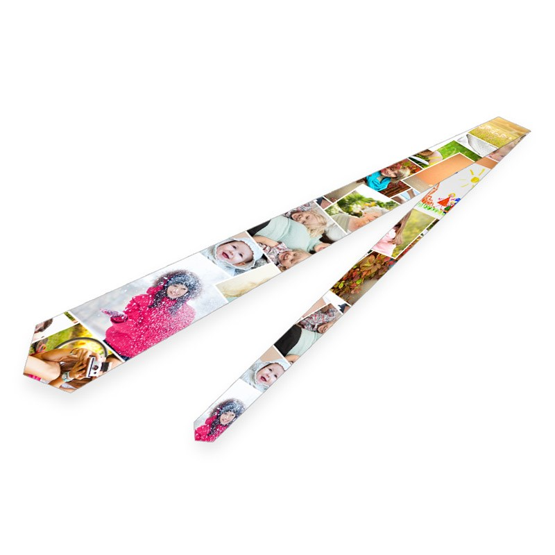 foto krawatte gestalten personalisierte krawatte mit fotos originelle fotogeschenke. Black Bedroom Furniture Sets. Home Design Ideas