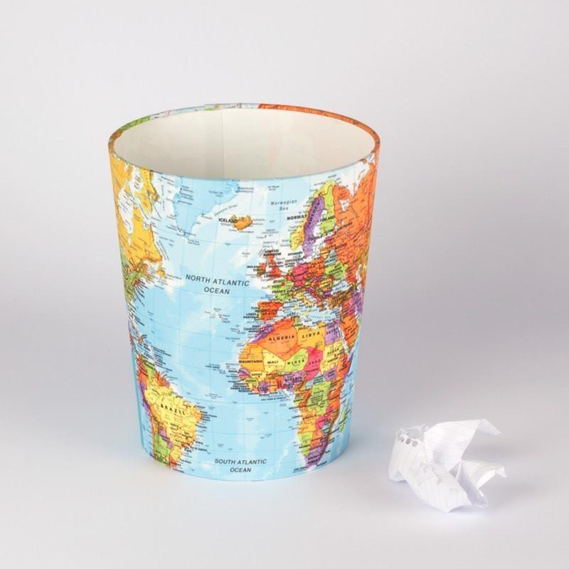 Papierkorb gestalten abfalleimer bedrucken - Papierkorb kinderzimmer ...