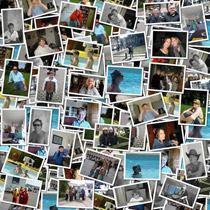 Leinwand collage fotocollagen auf leinwand selbst gestalten - Fotoleinwand erstellen collage ...
