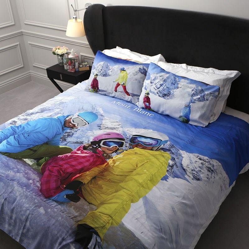 bettbezug mit foto originelle bettw sche bedruckt mit. Black Bedroom Furniture Sets. Home Design Ideas
