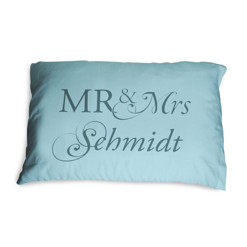 mr mrs kissenbezug das originelle geschenk zur hochzeit. Black Bedroom Furniture Sets. Home Design Ideas