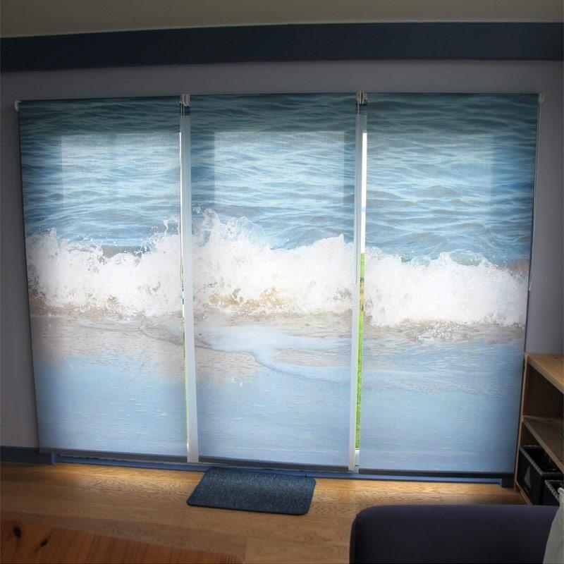 jalousien bedruckt mit deinem foto foto jalousien. Black Bedroom Furniture Sets. Home Design Ideas