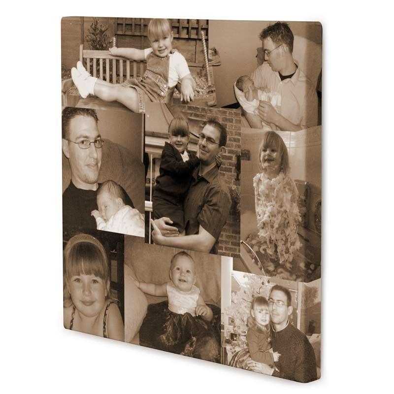 leinwand mit fotocollage leinwand collage erstellen. Black Bedroom Furniture Sets. Home Design Ideas